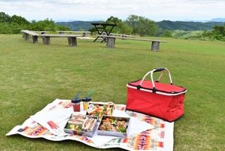 【高原ピクニック】天然芝ガーデンで爽やかな風に癒されながら高原ピクニックを楽しみませんか?