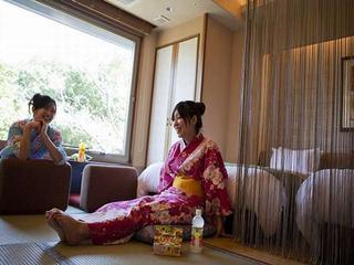 女性限定~【お泊り女子会】和モダン和洋室~こんぴら温泉ガールズトークプラン