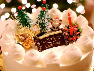 【クリスマス】夕食デザートにホールケーキ付!桜の抄の12月限定プラン