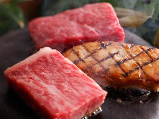 【50歳以上】こだわりの逸品~A5等級「讃岐牛ステーキ」付き量控えめ会席