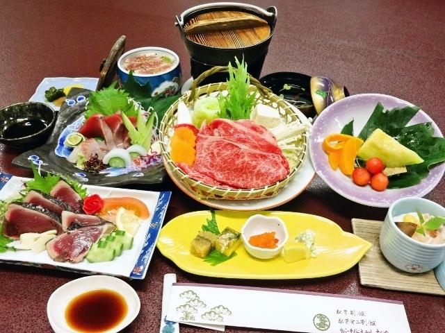【お食事】夕食/特選土佐和牛!しゃぶしゃぶ会席※一例
