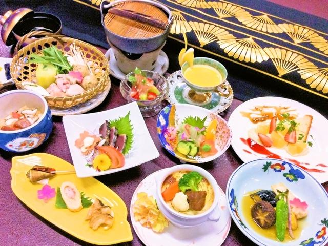 【お食事】夕食/【秋冬限定】高知三大美味会席