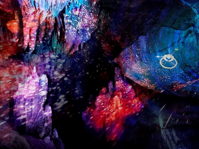 日本3大鍾乳洞「龍河洞」
