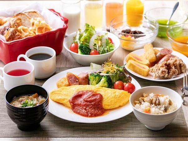 一日のスタートは朝食から