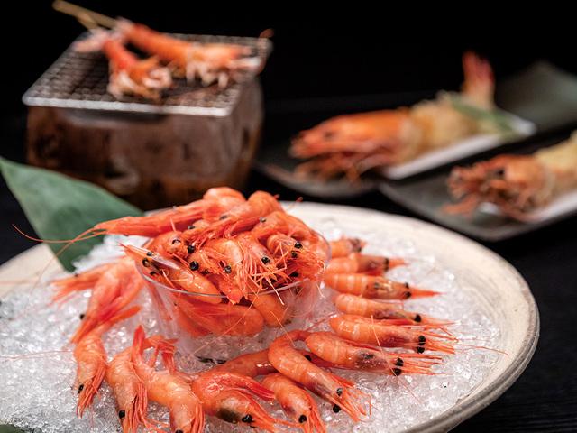 【海老づくし会席】甘エビのぷりぷり食感と甘みを堪能※イメージ