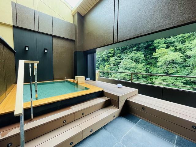 【9階露天風呂付プレミアムルーム】専用露天風呂
