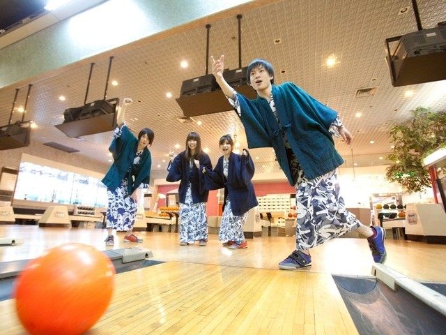 "Let's swell by bowling of ""hizenya"" juxtaposition♪"