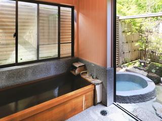 平屋造り露天風呂離れ客室/Cタイプ