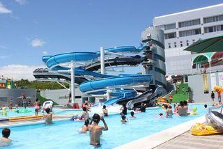 スプラッシュプール【ガオ】一周約190mの流水プール 3