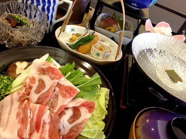 薩摩豚しゃぶ膳 ※お料理は一例です。仕入れにより異なる場合がございます。