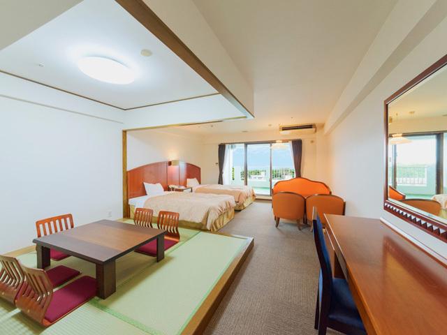 和洋室 4.5畳+ツイン+キッチンの快適な寛ぎ空間 和洋室C